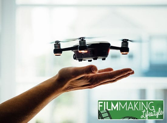 filming with a drone