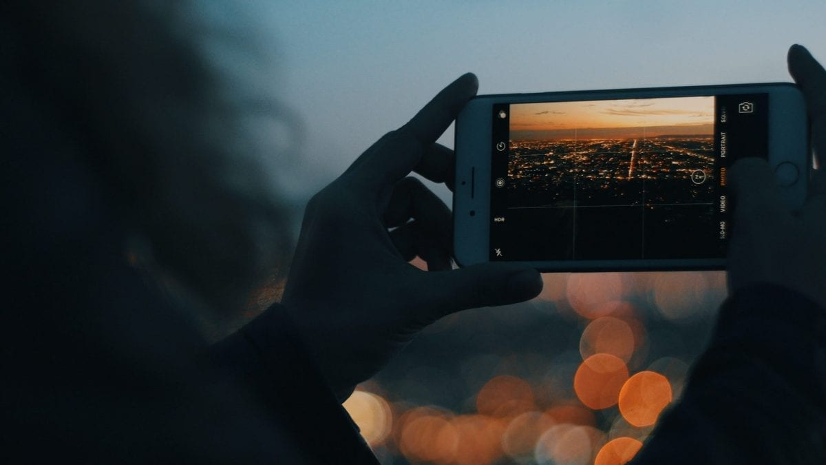 shooting videos with a smartphone